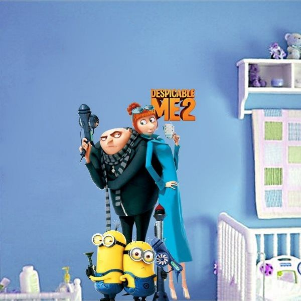 minion despicable me decorating inspiration for kids bedroom