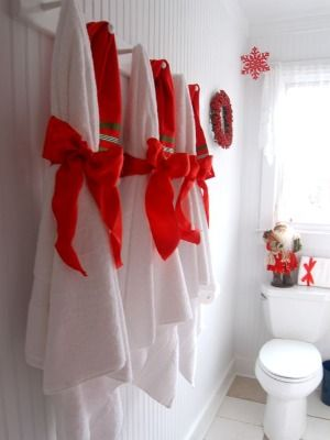 9 Best Images About Christmas Bathrooms On Pinterest
