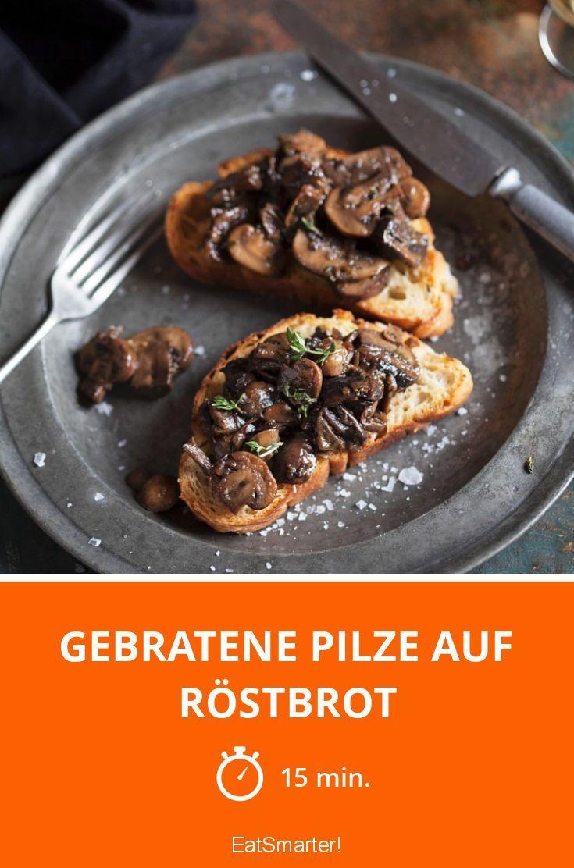 die besten 25 gebratene pilze ideen auf pinterest champignons braten risottoreis kochen und. Black Bedroom Furniture Sets. Home Design Ideas