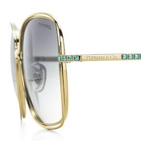 Tiffany & Co sunglasses with stones