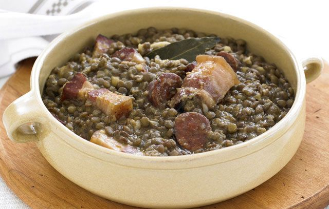 Spanish lentils | Dinner | Pinterest