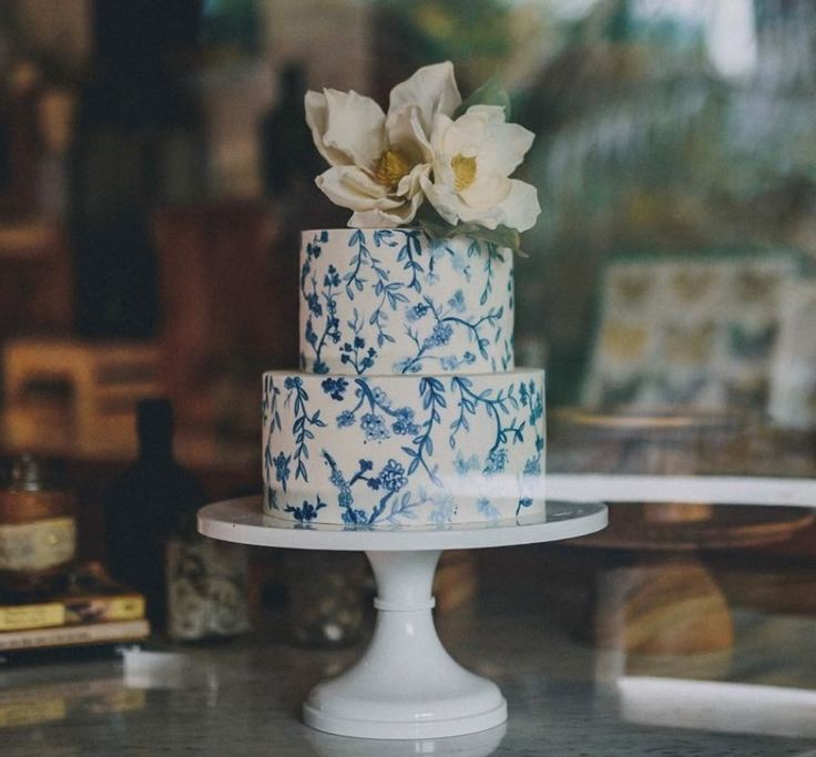 Wedding Cakes Inspired By China Patterns: Pin On Wedding Cakes