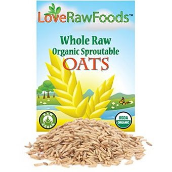 Whole Oats, sproutable - LRF (5 lbs)