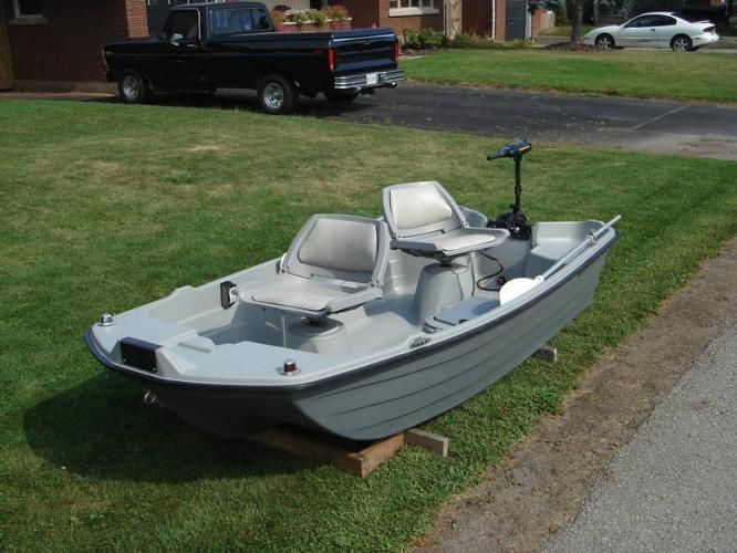 16 best small lake and river fishing boats images on for Best river fishing boat
