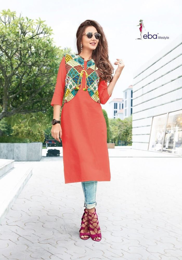 51353056c1 Indian Bollywood Kurta Kurti Designer Women Ethnic Dress Top Tunic New Gown  VRJ #Handmade #IndianKurtiKurta #AnyoccasionCasualEveningGownPartyFestive