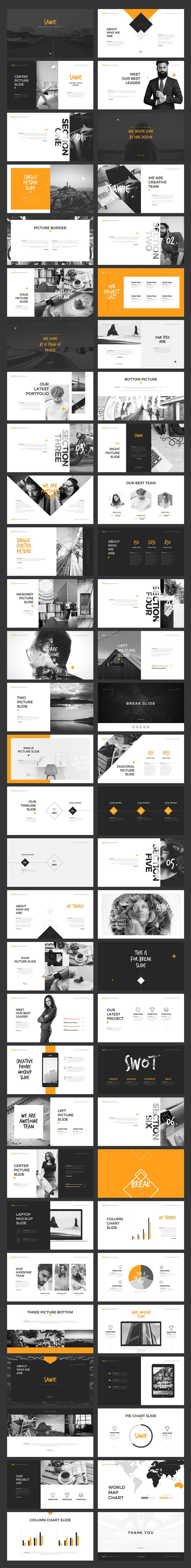 SAWIE Keynote Template by Angkalimabelas on @creativemarket