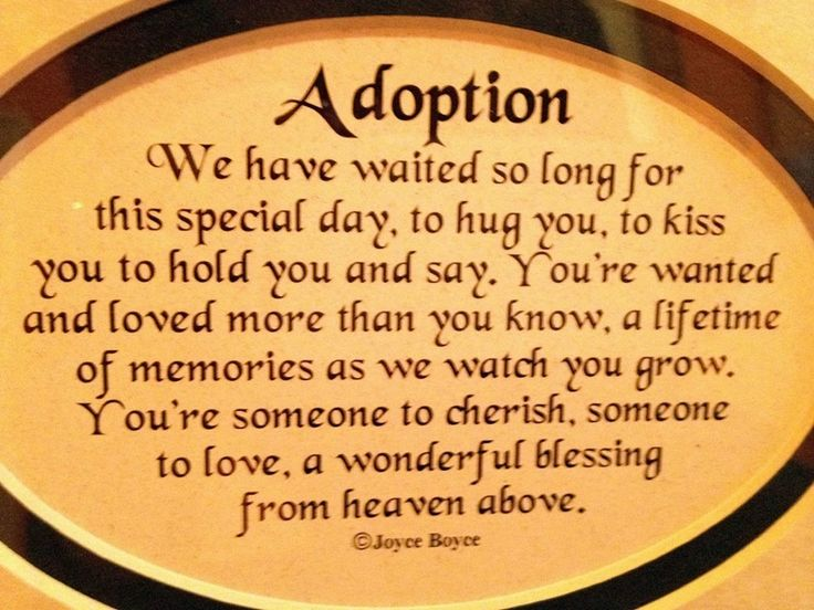 61 Best Images About Adoption Quotes & Poems On Pinterest