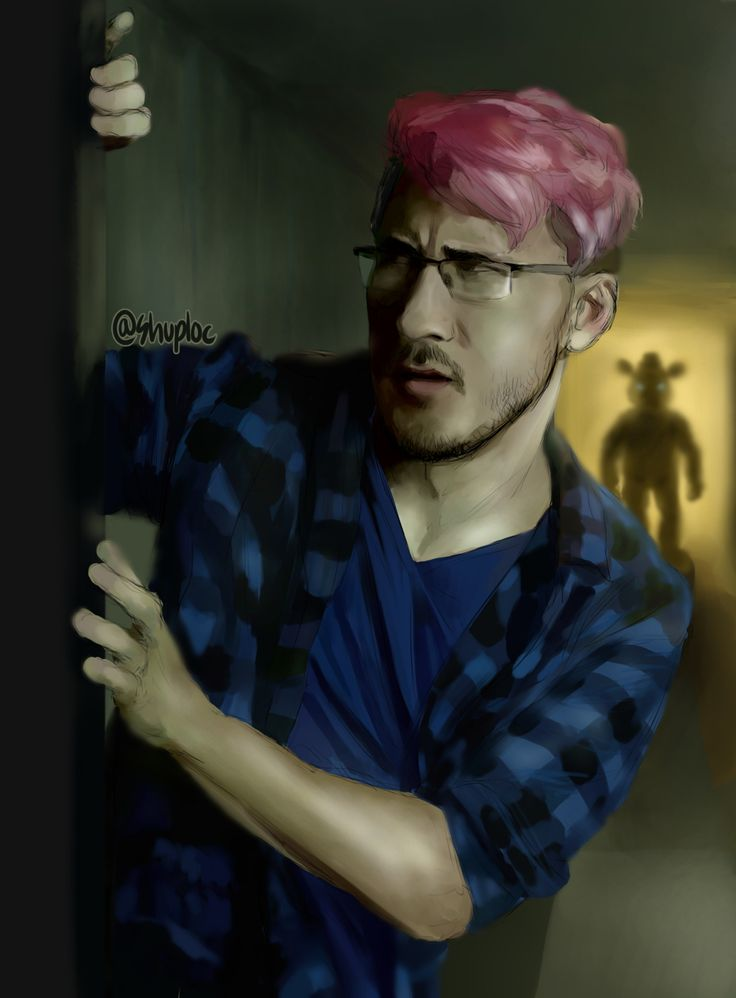 """I colored the """"Markiplier Youtube Rewind 2015″ sketch! c;"""