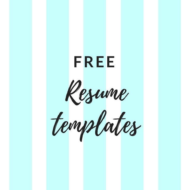 Oltre 25 idee originali per Free resume templates word su - how to find resume templates on microsoft word