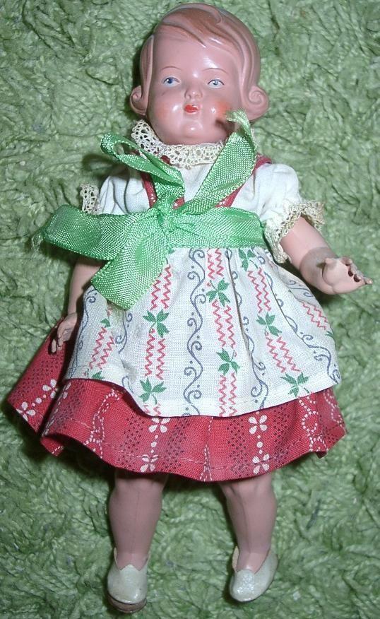 Alte Schildkröt Puppe ca 20 cm Mädchen    in Antiquitäten & Kunst, Antikspielzeug, Puppen & Zubehör | eBay!