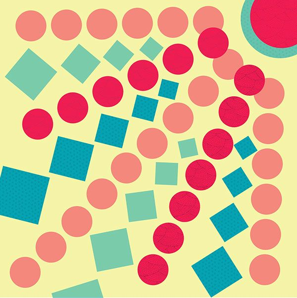 composicion simetrica con figuras geometricas - Buscar con Google