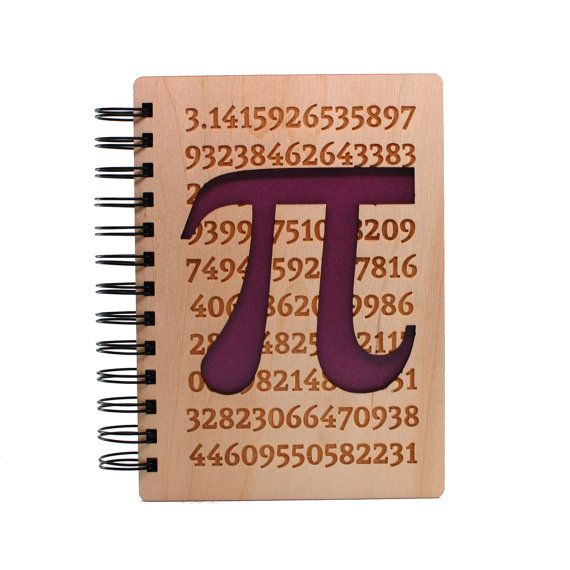 Hey, I found this really awesome Etsy listing at https://www.etsy.com/listing/235805291/the-value-of-pi-lasercut-wood-journal