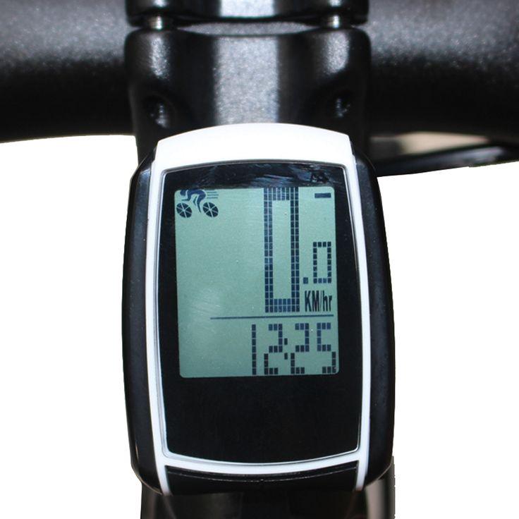 Bike Cycling Bicycle Odometer Computer Wireless Speedometer Multi-Function Waterproof cycle Stopwatch