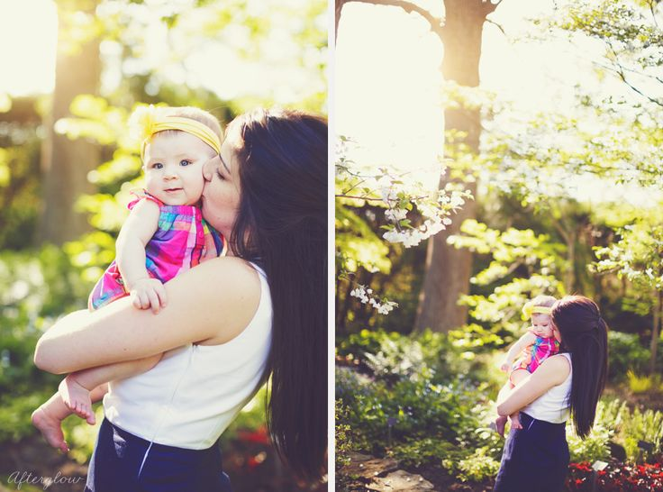 Cameron and her Mommy
