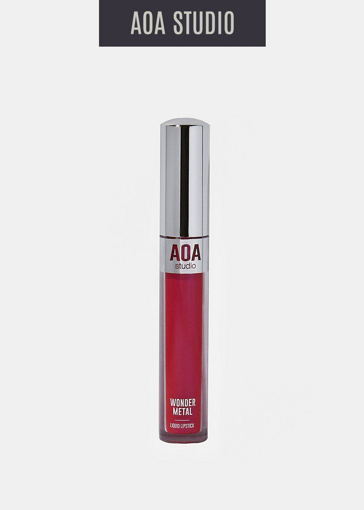 AOA Wonder Metal Liquid Lipstick- Bella