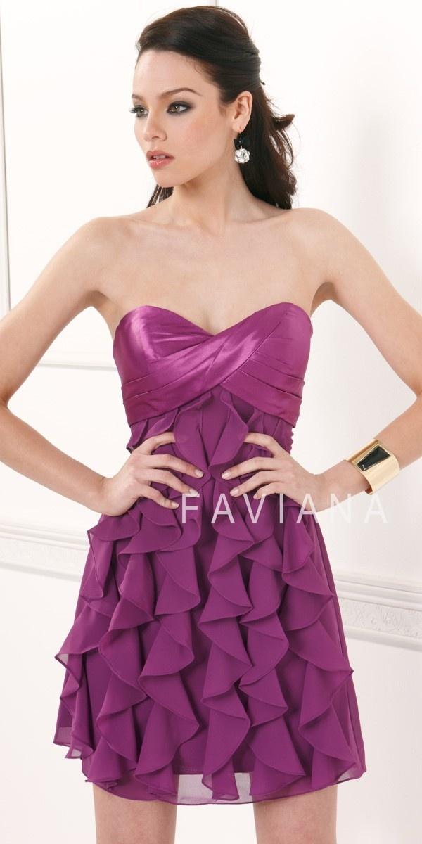 Mejores 20 imágenes de Faviana en Pinterest | Dresses 2013, Vestidos ...