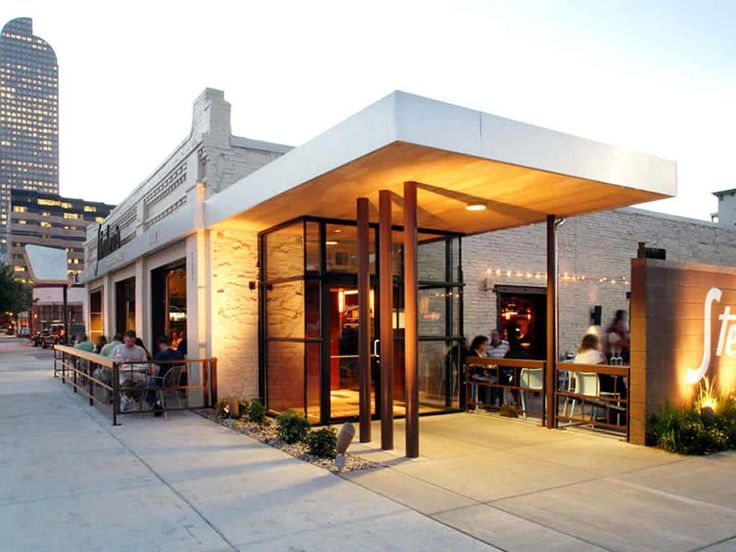 Restaurant exterior design eatery inspiration for Retail shop exterior design