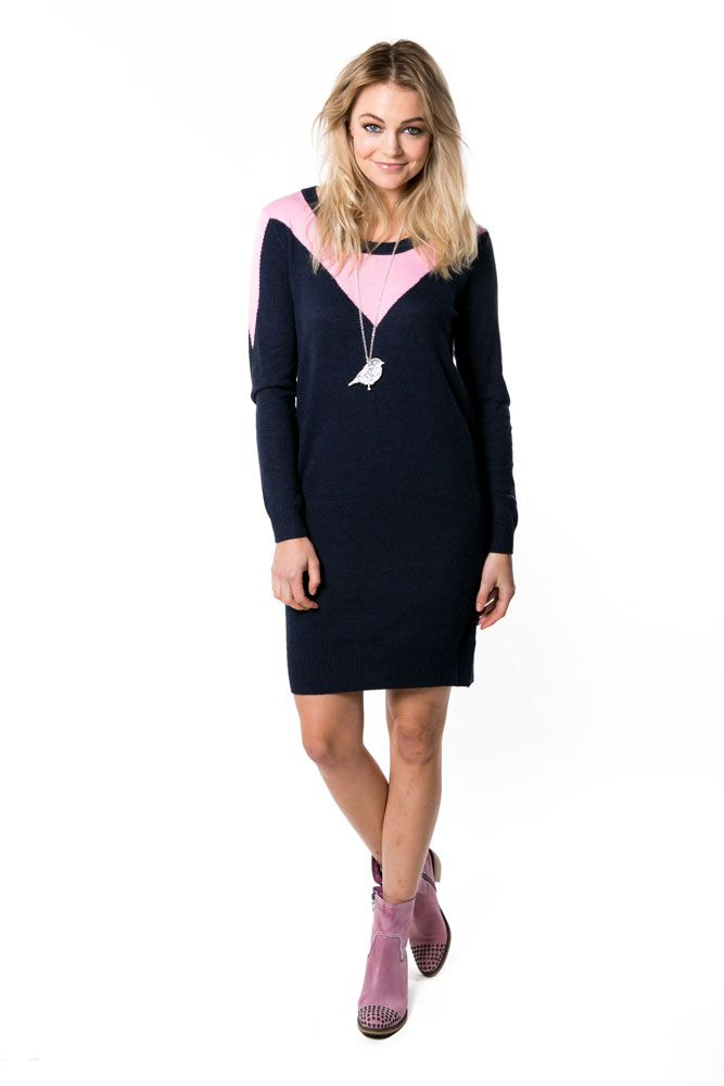 Picture of Alabama Knit Dress - Baby Pink