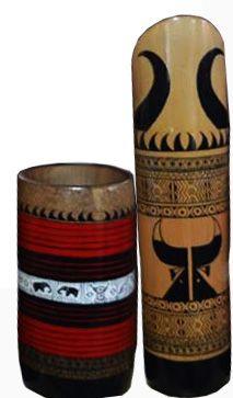 Naga handicrafts, Mugs made of bamboo.