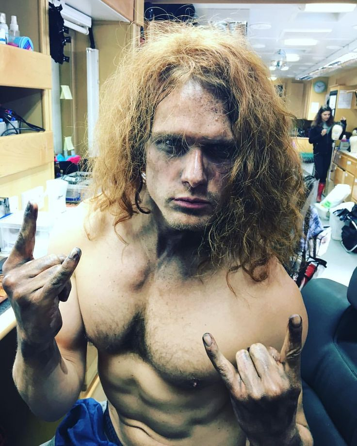 """8,005 Likes, 320 Comments - Sam Heughan (@samheughan) on Instagram: """"Feel like @megadeth need a new front man? @davemustaine """""""
