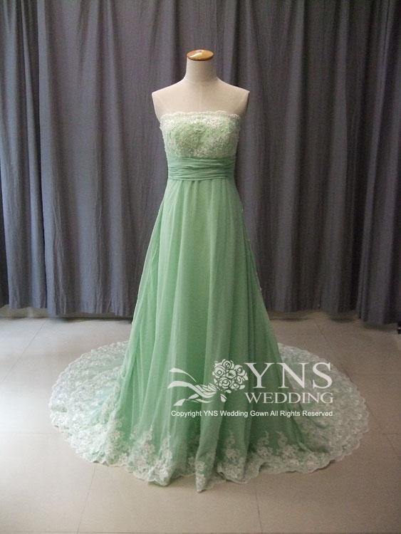 [SC1091-GN]SELECT DRESS カラードレス|ウェディングドレスのYNS WEDDING