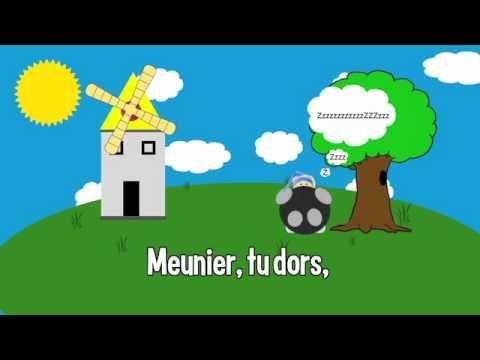 ▶ Comptine : Meunier Tu Dors - YouTube