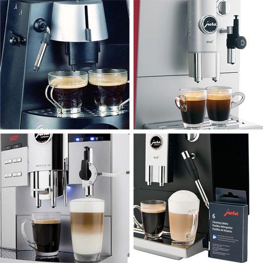 Swiss-Made Jura Capresso Coffee & Espresso Machines....worth every penny.