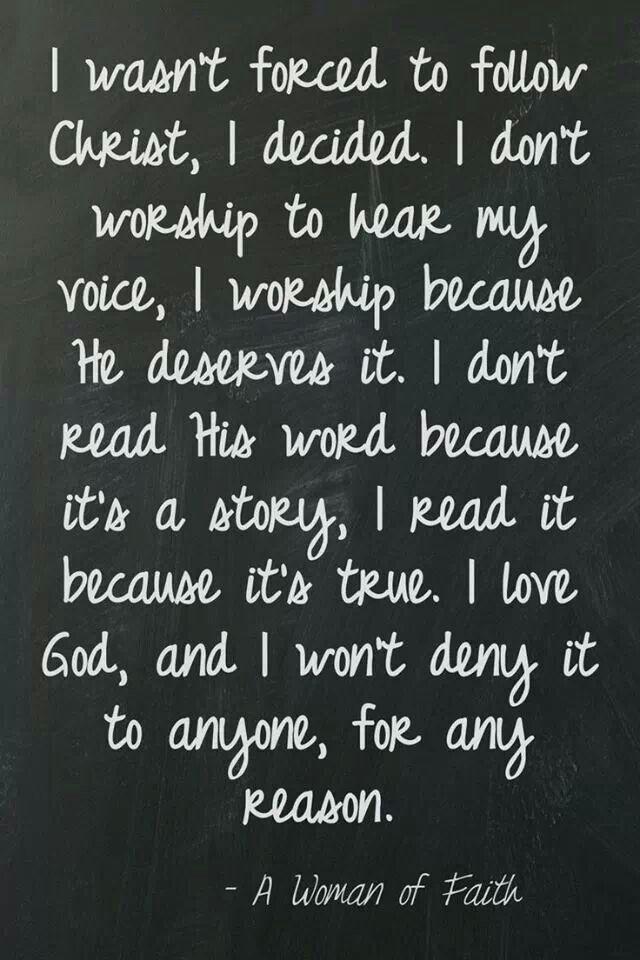 A Woman of Faith!