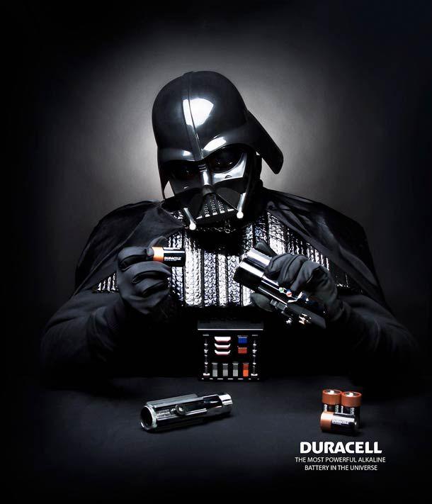 Que la force de Duracel soit avec toi