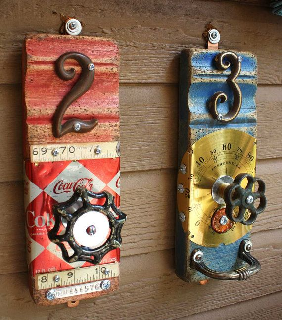 Coat Rack Garden Faucet Handle CocaCola Can Ruler by GadgetSponge, $49.00