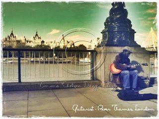 "Guitarist on the Thames - London (C) Emma ""Chelsea Dagger"" Boyce Manual layered - no macro filters. NO instagram! ""Back in the day""..."