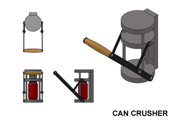 Build Your Own Aluminum Can Crusher