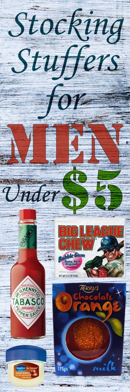 Stocking Stuffers for Men Under $5