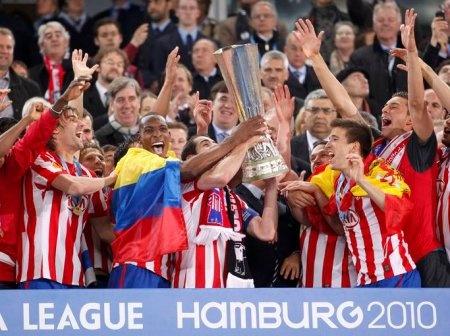 Atletico de Madrid  Europa League 2010