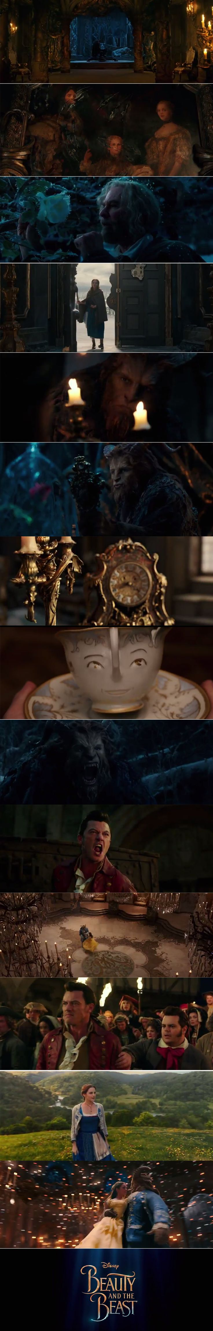 A scene-by-scene look at Disney's Beauty and the Beast trailer. #BeautyAndTheBeast waltzes into theatres March 17.