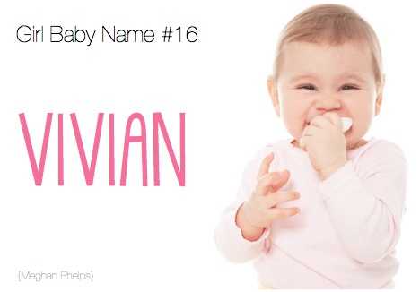 All about the name Vivienne - Baby Names