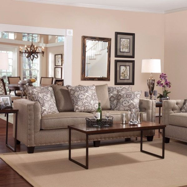 Colorful Living Room Sets: Fallow - Living Room Set