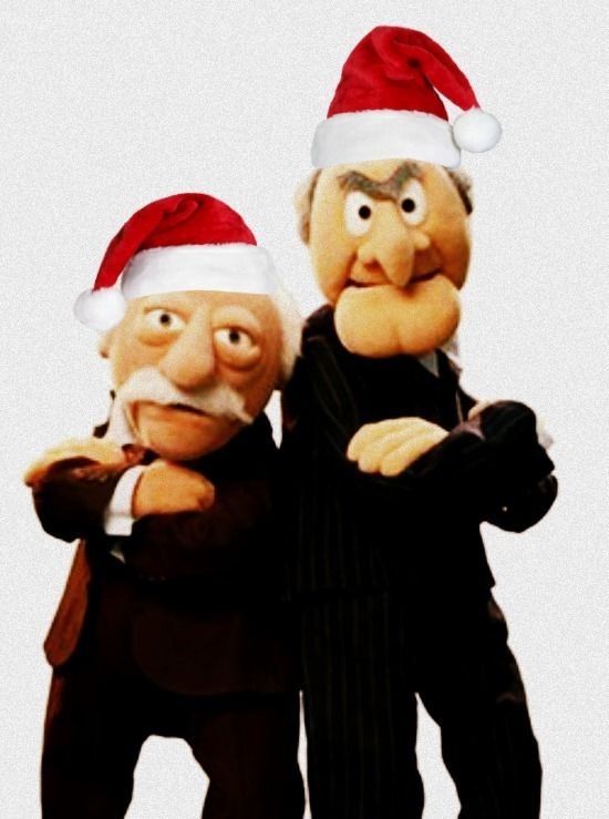 """They are two disagreeable grumpy old men from the television series """"The Muppet Show"""". Statler & Waldorf usually tease the rest of the cast from their balcony seats."""