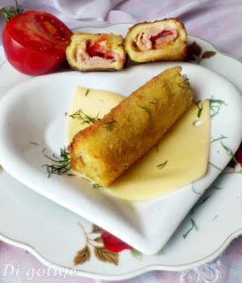 Di gotuje: Krokiety z chleba tostowego (z serem i szynką)