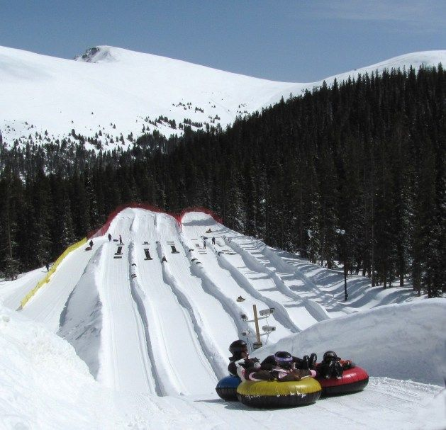 Tubing at the Adventure Center at family-friendly Keystone Resort in the Colorado Rockies Snow Conditions Prime at Vail's 4 Colorado Resorts in Time for Season  Opening