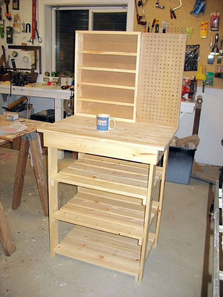 Small Workbench - The Dale Maley Family Web Site