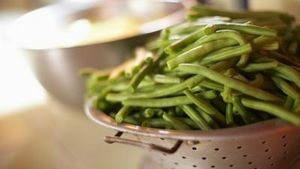 Dehydrated Green Beans - Lightly season before freezing