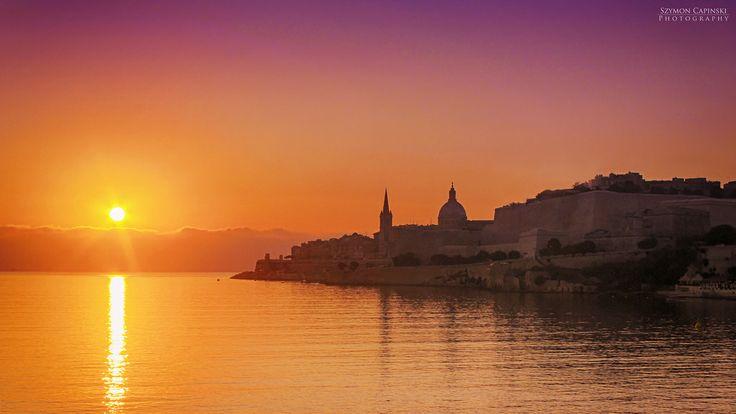 Valletta - The capital city of Malta