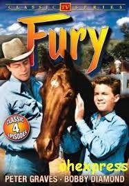 Furia cavallo del West è una serie televisiva statunitense trasmessa dal 1955 al 1960 con Fury, R. Diamond, P. Graves