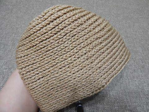 Gorra Espiral Crochet - YouTube