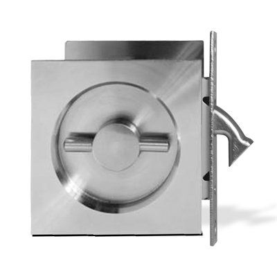Jako Design Hardware CMY071 Square Pocket Door Lock