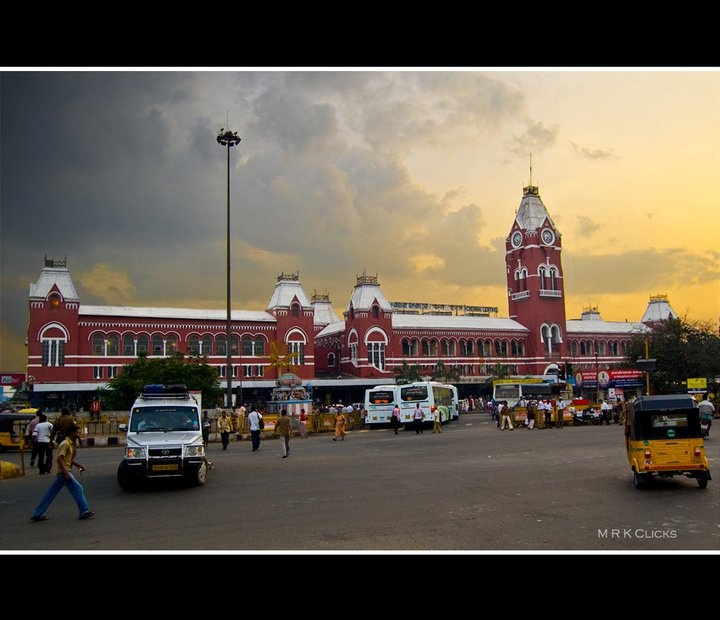 Chennai central at its best <3 <3  .....