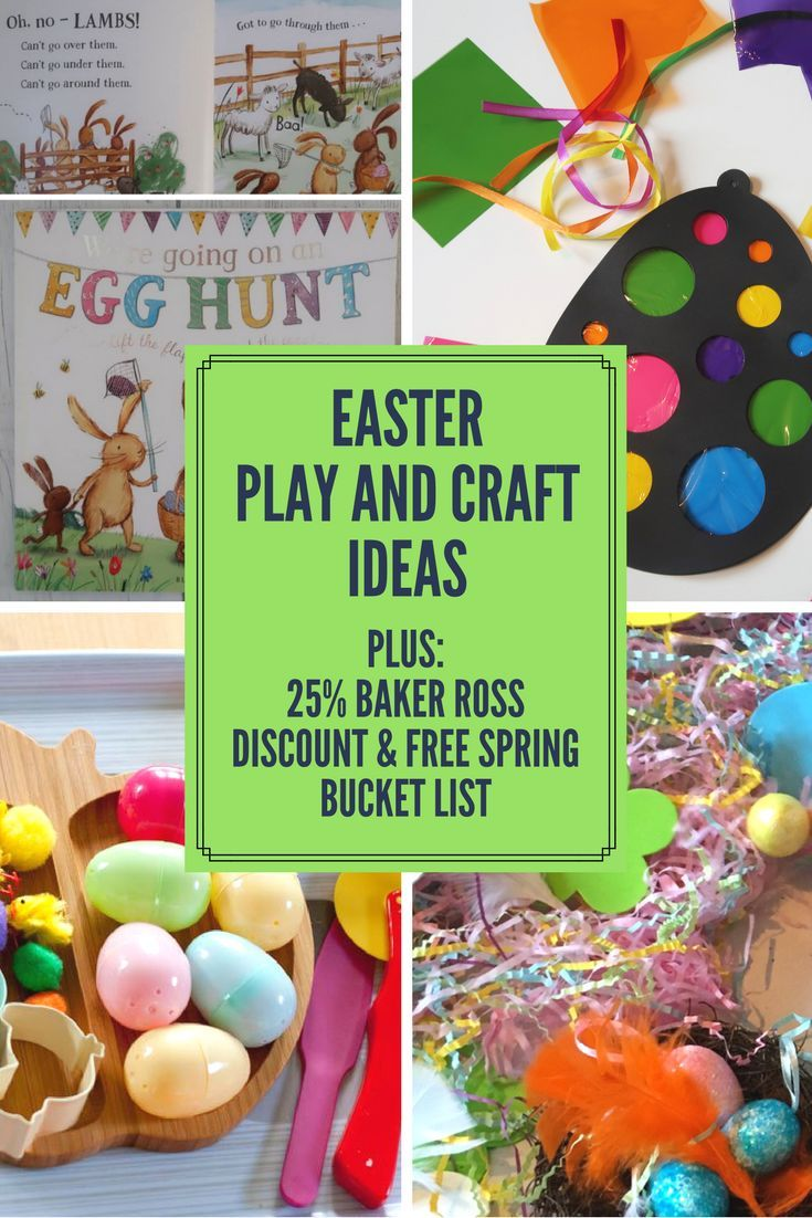 Easter Play and Craft ideas - Messy Blog UK