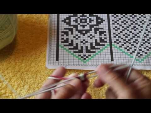 Вязание джурабов. Урок 1 - YouTube