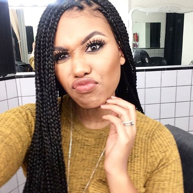 Crochet Box Braids Pinterest : ... and eyebrows on Pinterest Box braids, Faux locs and Crochet braids